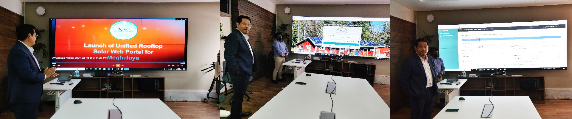 CM launches the Meghalaya Roof Top Solar Portal